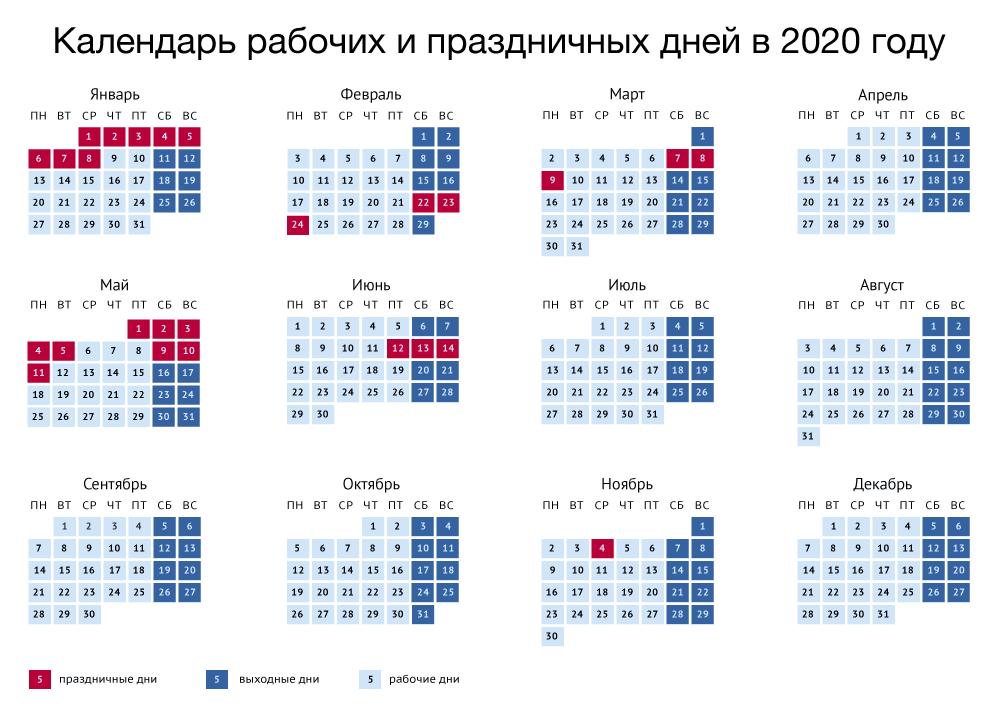 Праздники 2020